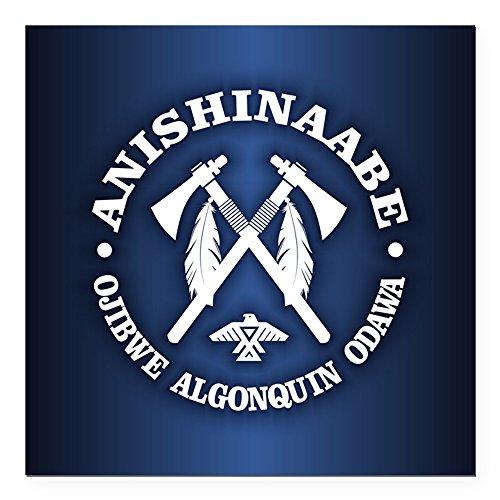 CafePress - Anishinaabe Square Car Magnet 3