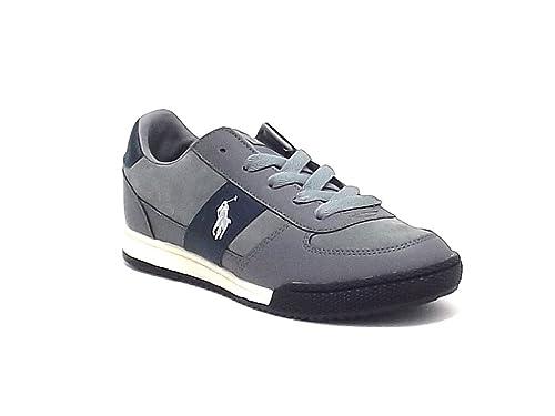 Polo Ralph Lauren - Zapatillas para niño Gris Gris 39: Amazon.es ...