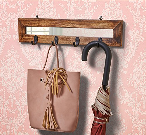 Wooden Decorative Wall Hook Key Holders Organizer Hanger Rac