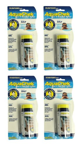 4) New Aquachek 561140A Swimming Pool Spa White Salt Titrato