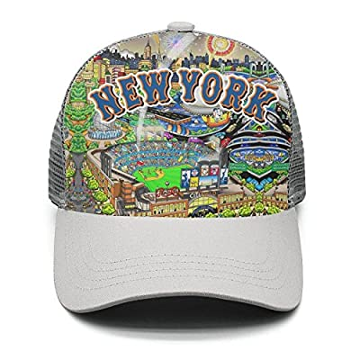 Nathat Childr Adjustable Snapback Hat Baseball Cap Trucker Hats