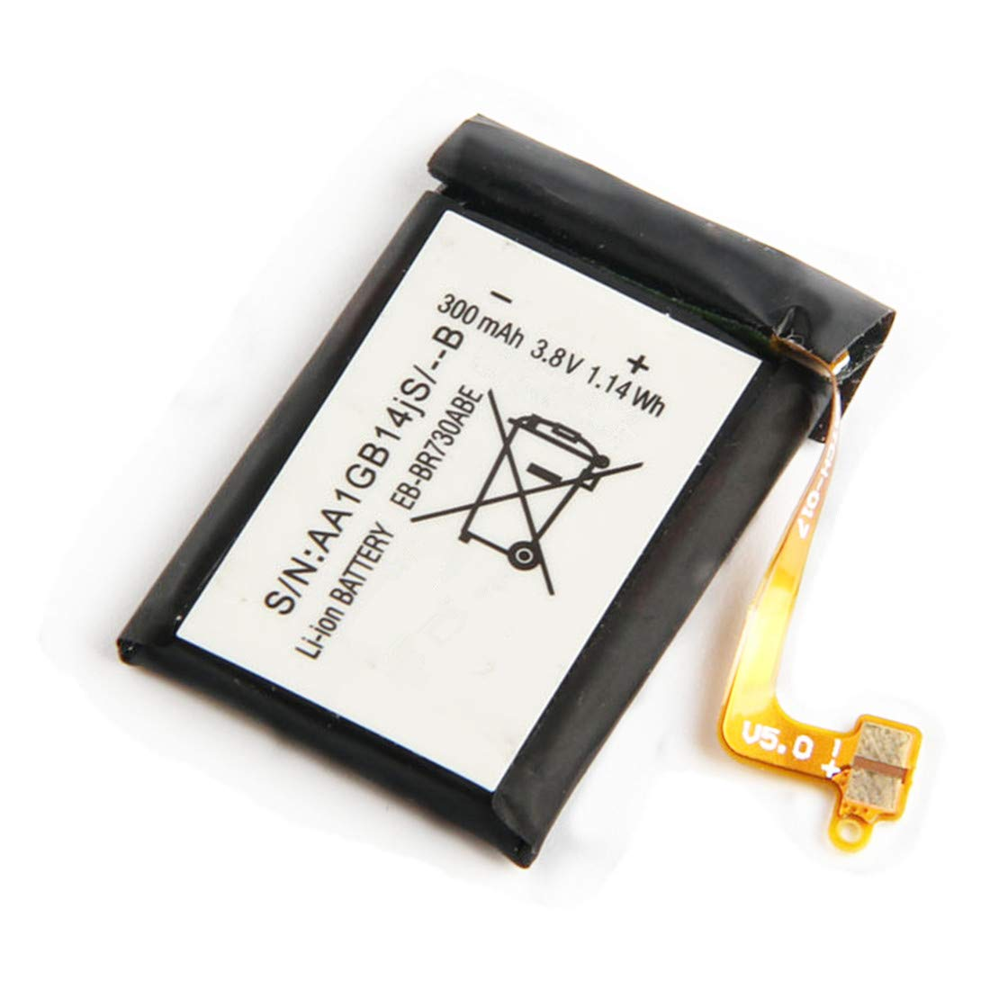 YNYNEW Replacement EB-BR730ABE Battery for Samsung Gear S2 3G SM-R730 SM-R730A SM-R730V SM-R600 SM-R730S SM-R735A R730 R730A R730V R600 R730S R730T