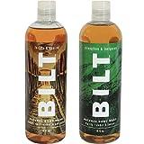 """BILT Natural Body Wash for Men 16 oz, """"Rugged"""" Variety Set of 2: Big Sky & Prohibition For Sale"""