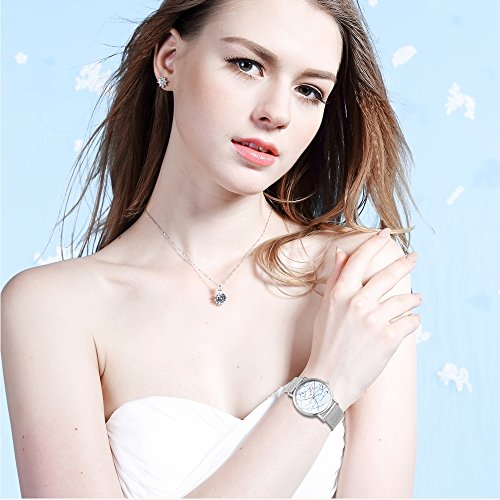 Dig dog bone 6812 Round Dial Alloy Silver Case Fashion Couple Watch Men & Women Lover Quartz Watches With Stainless Steel Band (SKU : Wa0724a) by Dig dog bone (Image #7)
