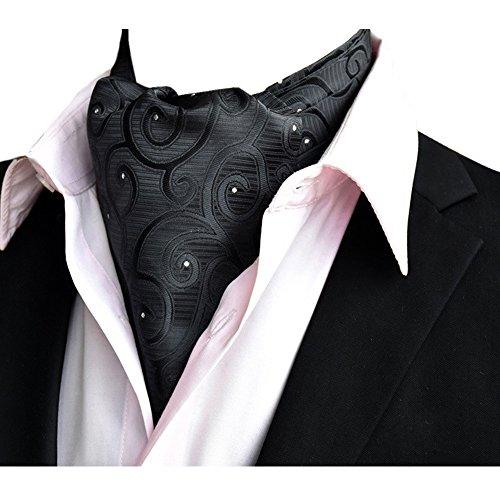 Cravat Ascot 11 Mens NeckTies Premium Paisley Tie Scarf Dlj Silk Wedding YCHENG wZXqSOw
