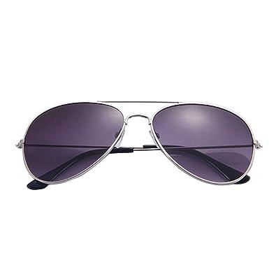 Gafas de Sol con diseño clásico de Metal para Hombre y Mujer ...