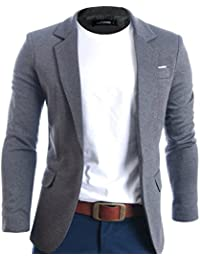 Amazon.com: Grey - Sport Coats & Blazers / Suits & Sport Coats ...