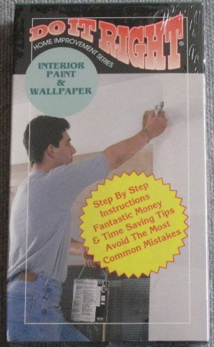 Do It Right: Interior Paint & Wallpaper VHS Tape
