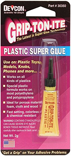 Devcon 30350 Super Glue for Plastic (2G), 0.07 (0.07 Ounce Super Glue)