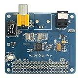 WINGONEER HIFI DiGi Pro Digital Sound Card for Raspberry pi 3 Model B | Two oscillators | I2S SPDIF Optical Fiber | 44.1&48kHz | 2B 3B