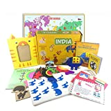 Learning Toy for kids - India Activity Kit from Globe Trotters Box (4-6 year olds)