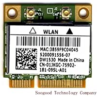 Dw1530 BCM43228 A/B/G/N Wireless Mini Pci-e Card Half Size USE for DELL