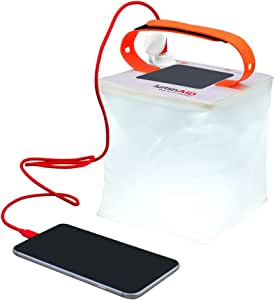 LuminAID PackLite 2-in-1 Phone Charger Lanterns | Great for Camping, Hurricane Emergency Kits and Travel | As Seen on Shark Tank