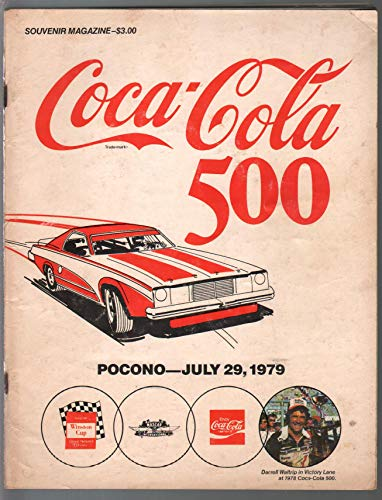 Pocono Int'l Raceway NASCAR Auto Race Program-7/29/1979-Coca Cola -