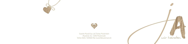 Hochzeitskarten  Einladung Einladung Einladung natürlich Ja 2, hochwertige Einladung zur Heirat inklusive Umschläge   30 Karten (format  148.00x105.00mm) Farbe  Braun B074V67NXD | Lebendige Form  | Quality First  | König der Quantität  e82e0b