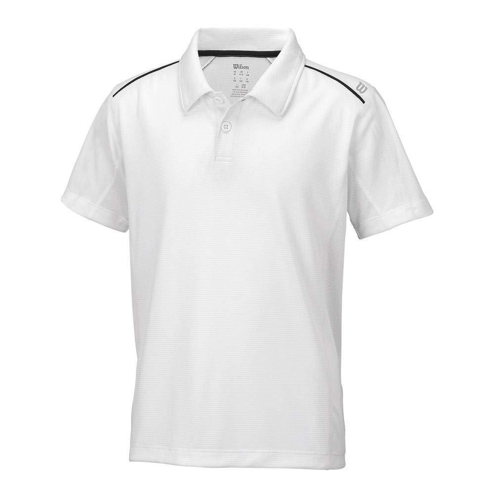 Wilson - Boys NVISION ELITE tenis Polo Blanco - (wra711604-b ...