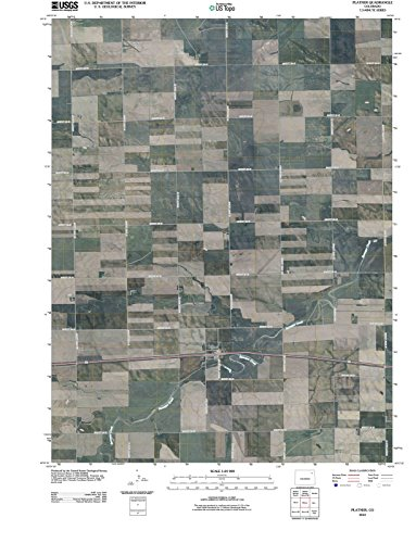 Colorado Maps | 2010 Platner, CO USGS Historical Topographic Aerial Map |...