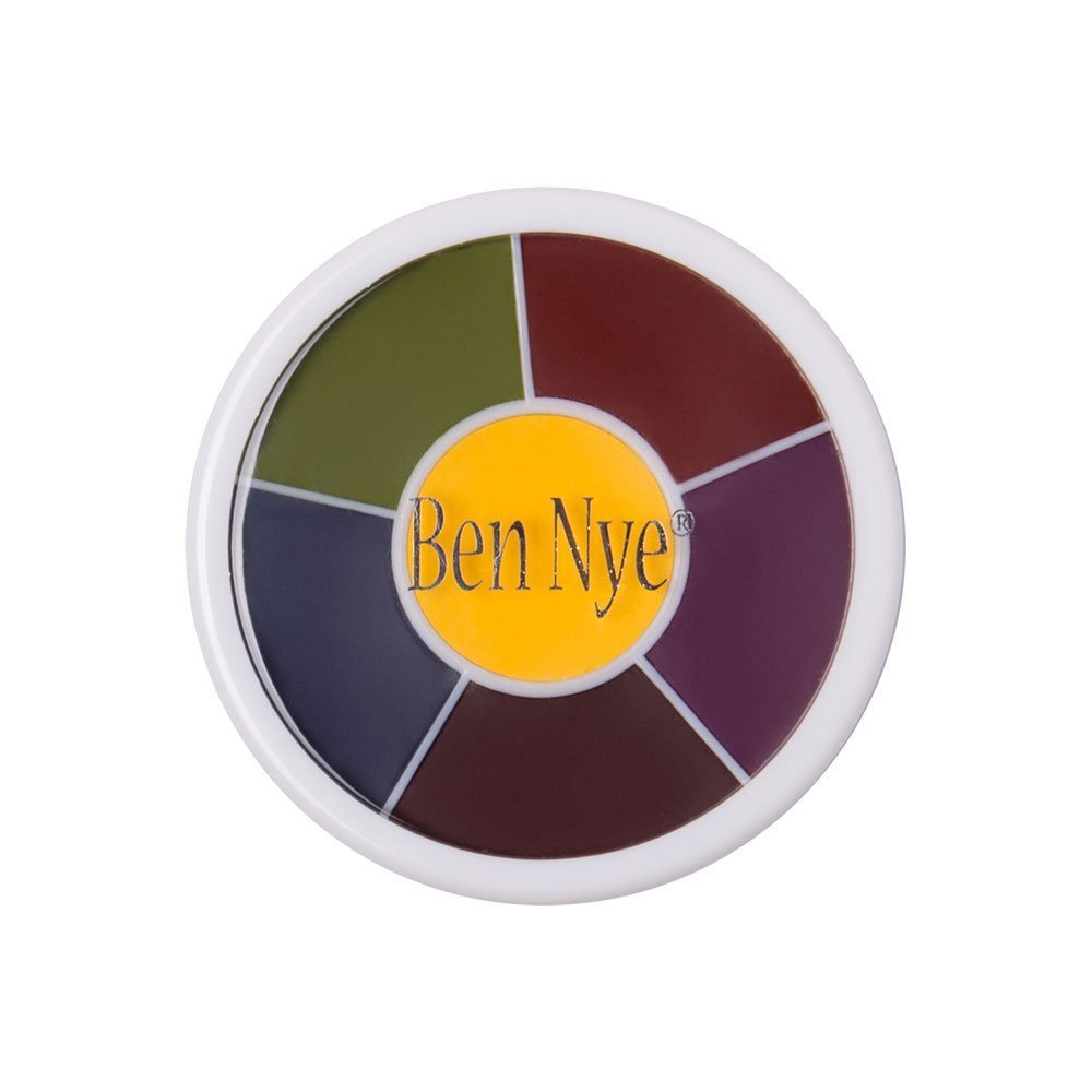 Amazon ben nye zombie wheel makeup palettes beauty ben nye master bruise wheel ew 4 1 oz28 gm baditri Choice Image