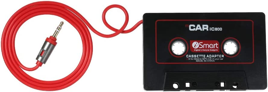 Kkmoon Audio Adapter Aux Auto Kassetten Konverter 3 5mm Für Ios Andriod Telefon Mp3 Auto