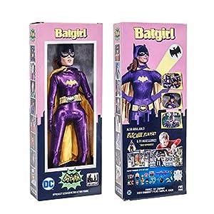 51HLMCbIvrL. SS300 Figures Toy Company Batman Classic TV Series Boxed 8 Inch Action Figures: Batgirl