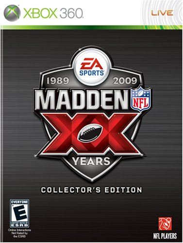 (Madden NFL 09 20th Anniversary Collectors Edition -Xbox 360)