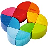 HABA Rainbow Ring Wooden Clutching Toy (Made in Germany)