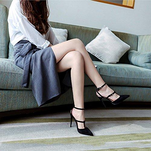 femeninos hebilla Jia de cordones Chang de Shi Firm Pin de tac Zapatos Ren Sv4ZwZ