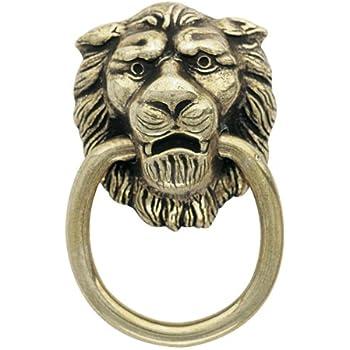 Amerock Traditional Classics Lion Head Ring Pulls