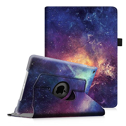 Fintie iPad mini 1/2/3 Case - 360 Degree Rotating Stand Case Cover with Auto Sleep/Wake Feature for Apple iPad mini 1/iPad mini 2/iPad mini 3, Galaxy