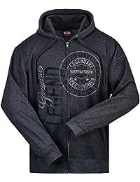 Harley-Davidson Hooded Zip Sweatshirt - Legendary  ...