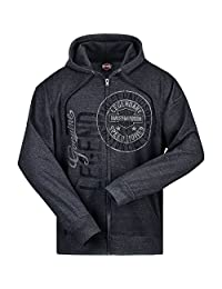 Harley-Davidson Hooded Zip Sweatshirt - Legendary | Overseas Tour 2X