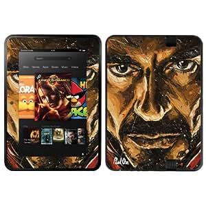 "Diabloskinz B0084-0058-0005 - Vinilo autoadhesivo para Kindle Fire HD (7"", modelo de 2012), diseño de Robert Downey Jr"