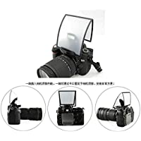 SHOPEE Universal Pop-up Flash Diffuser Soft Box for DSLR (Multicolour)