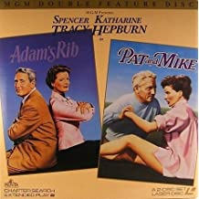 Adam's Rib / Pat and Mike Double 12 Laserdisc Set