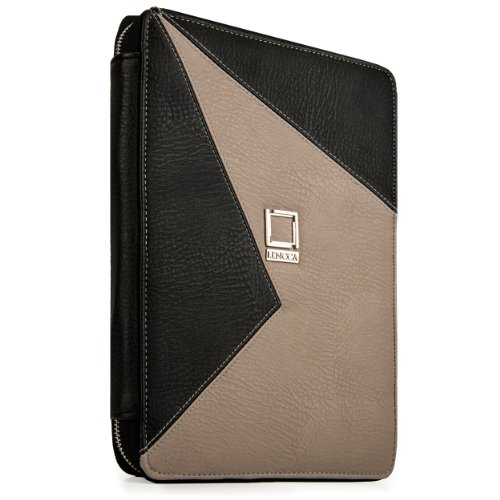 lencca-minky-eco-leather-portfolio-for-lg-g-pad-x-101-lg-g-pad-101-inch-tablet-onyx-taupe