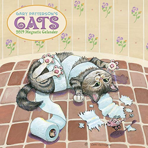 2019 Patterson Cats Magnetic Wall Calendar, Jokes & Insult by Calendar Ink