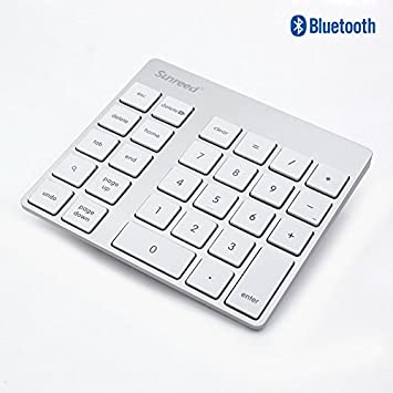 mac bluetooth number pad not working