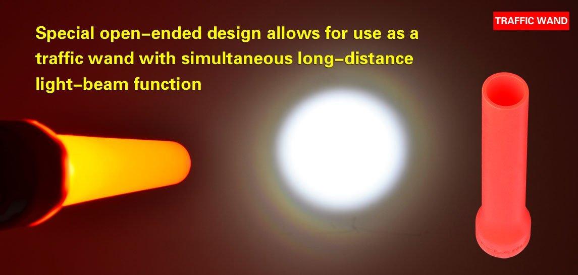 Klarus Cono de difusor para  Xt10//Xt11//Xt12//St11 y Rs11 naranja
