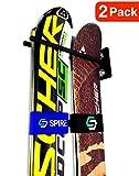 Couple Ski Wall Storage Rack   Steel Home and Garage Skis Mount (2)