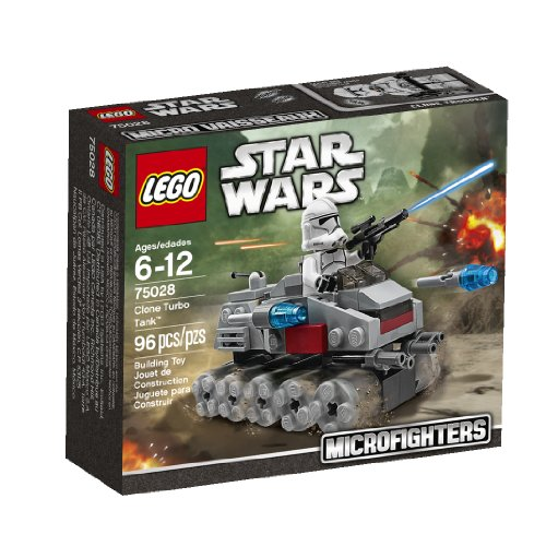 Lego, Star Wars Microfighters Series 1, Clone Turbo Tank (75028) (Lego Star Wars Clone Turbo Tank Set 8098)