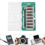 60-in-1 Magnetic Screwdriver Set Simpzia Precision Torx Screwdriver Set with 56 Bit Magnetic Screwdriver Kit for Cell Phone, Tablet, PC, Macbook,Gamepad Best Electronics Repair Tool Kit