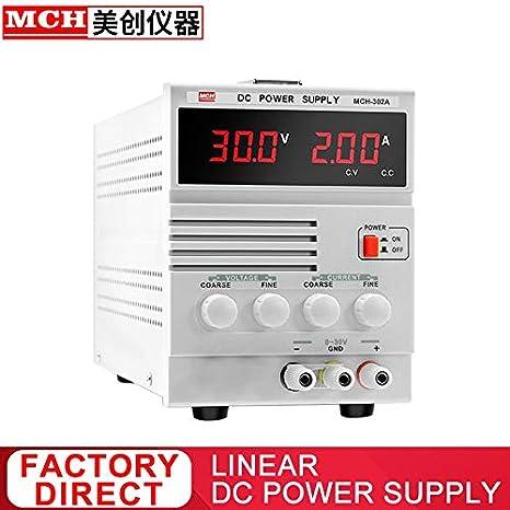 Utini MCH Bench Power Supply Adjustable 30V 2A DC Power Supply MCH-302A Single Channel Linear DC Power Supply Output Voltage: 30V, Color: Israel Power Cord St, Power: 2A, Input Voltage: 110V