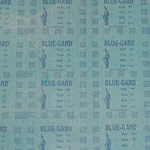 Aramid Fibers with a Nitrile Binder Gasket Sheet Blue