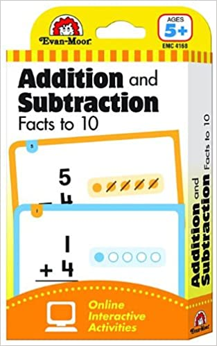 Amazon com: Flashcards: Beginning Addition and Subtraction