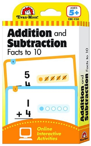 Download Flashcards: Beginning Addition and Subtraction Facts to 10 (Flashcards: Math) pdf