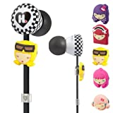 Monster Harajuku Lovers Wicked Style In-Ear Headphones Featuring Interchangeable Faces (Discontinued by Manufacturer)
