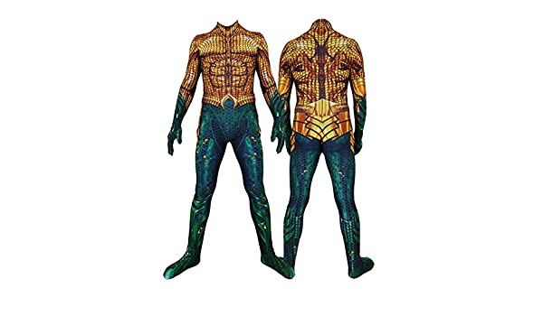 YUW Aquaman Fancy Tights Disfraz Disfraz Halloween Navidad Props ...
