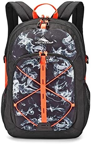 High Sierra Daio Backpack with Padded Mesh Shoulder Straps, Ideal for High School and College Students