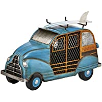 DecoBREEZE Table Fan Single-Speed Electric Circulating Fan, Blue Woody Car Figurine Fan