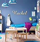 Personalized Wooden Name Sign, Wood Letters, Wall